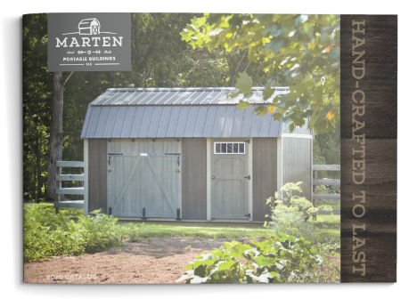 Marten Portable Buildings Brochure Cover