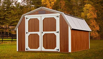 Marten Portable Buildings Barn