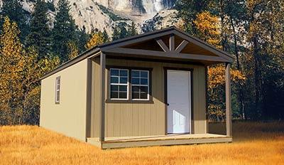 Marten Portable Buildings Classic Cabin