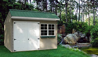 Marten Portable Buildings Cottage Shed