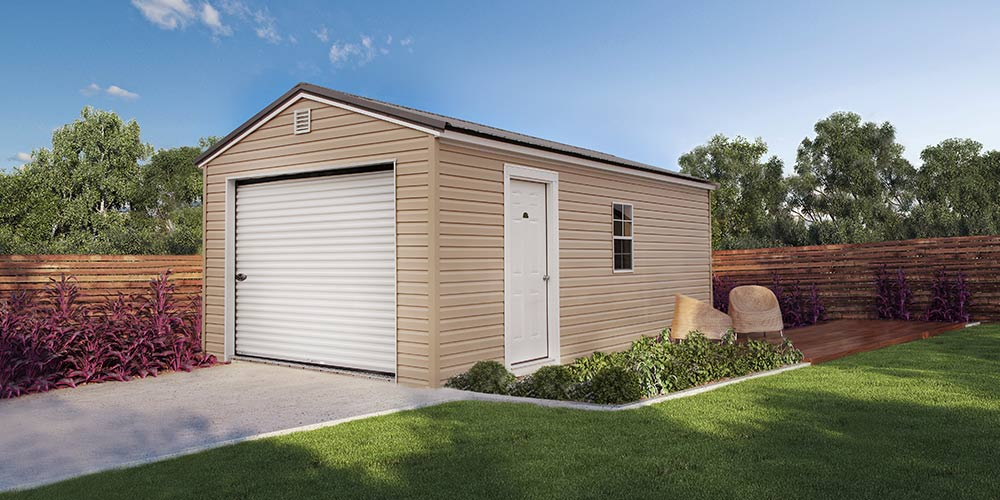 Garage Vinyl - Marten Portable Buildings Illinois