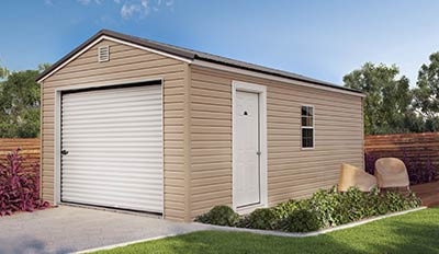 Marten Portable Buildings Garage