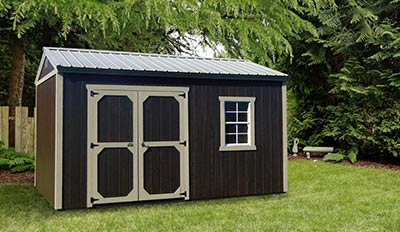Marten Portable Buildings Garden Shed