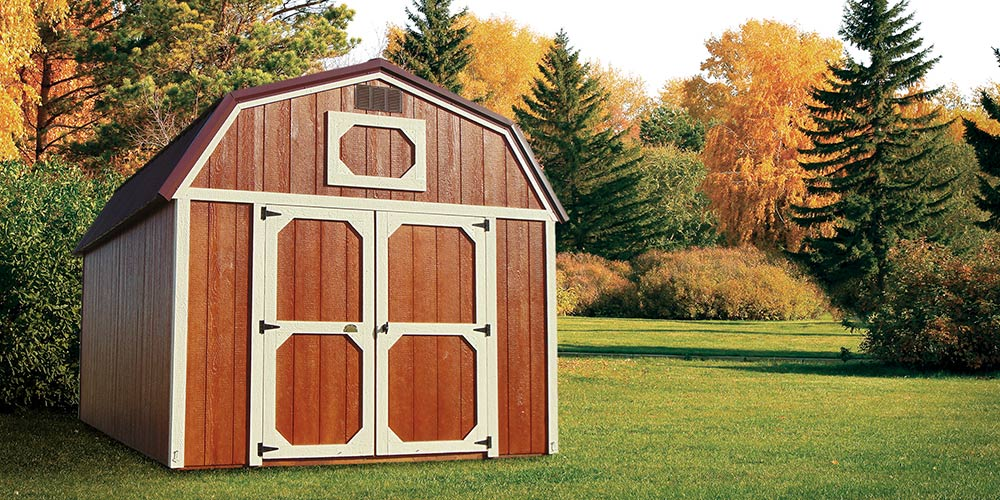 Lofted Barn Urethane - Marten Portable Buildings Illinois