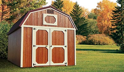 Marten Portable Buildings Lofted Barn
