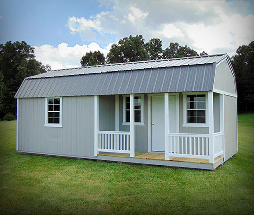 Marten Portable Buildings Lofted Casita