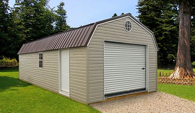 Marten Protable Buildings Lofted Garage