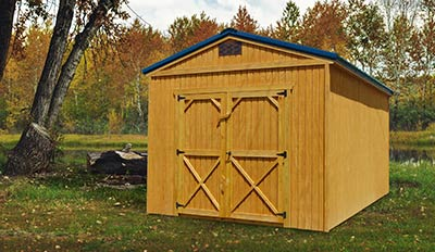 Marten Portable Buildings Utility Shed