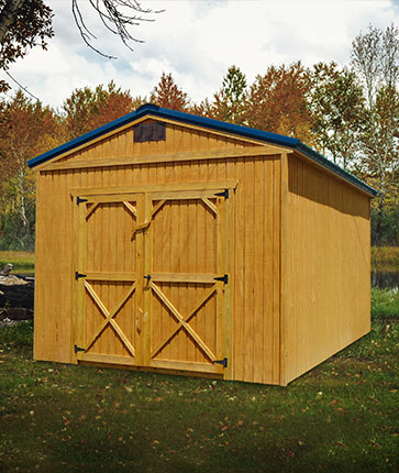 Utility Shed Wooded - Marten Portable Buildings Illinois
