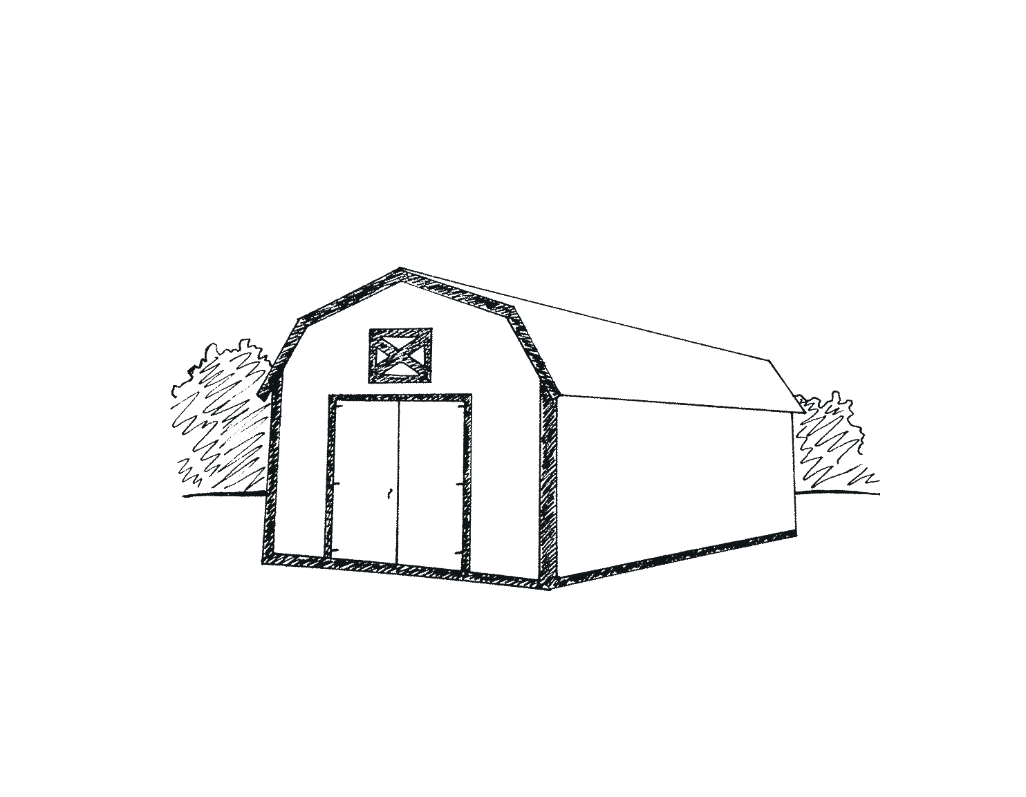 Metal Building Option - Marten Portable Buildings
