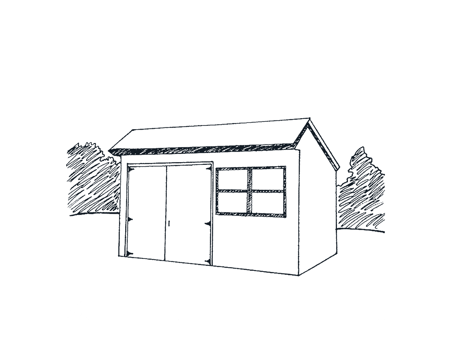 Vinyl Building Option - Marten Portable Buildings