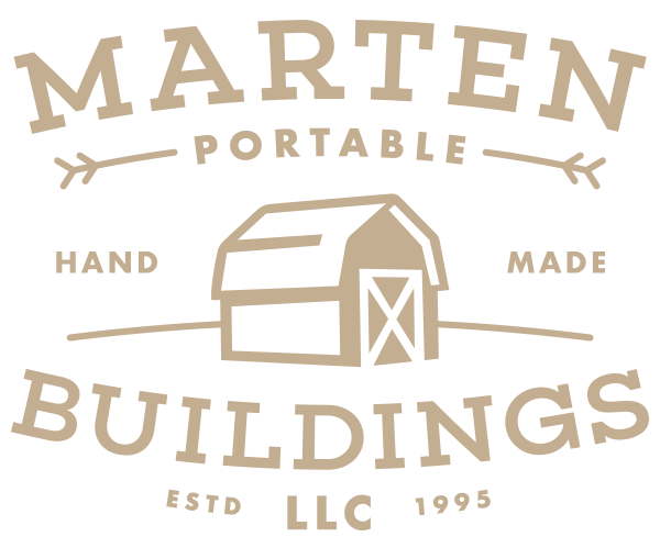 Marten Portable Buildings Logo