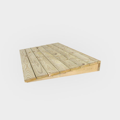 Wooded Ramp - Marten Portable Buildings