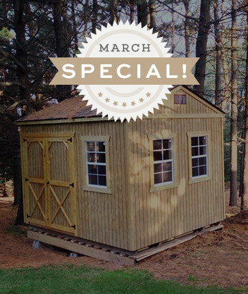 Custom Wooded - Marten Portable Buildings Illinois