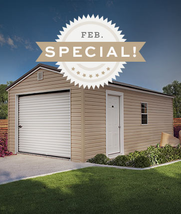 February Special - Marten Portable Buildings Illinois